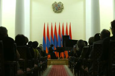 Pianist Svetlana Navasardyan's solo concert took place at the RA Presidential Residence - Photolure News Agency