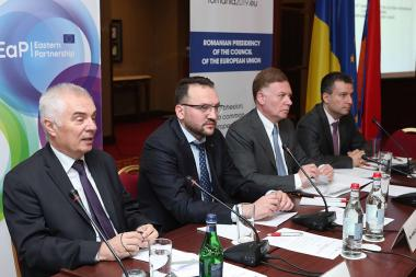 A conference dedicated to the 10th anniversary of EU Eastern Partnership took place at Armenia Marriott Hotel - Photolure News Agency