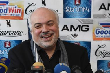 Artistic director of the National Academic Theatre of Opera and Ballet after A. Spendiaryan Konstantin Orbelyan gave a press conference in Tesaket press club - Photolure News Agency
