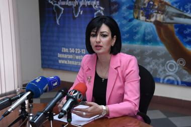lawyer Lusine Virabyan is guest in Henaran press club - Photolure News Agency