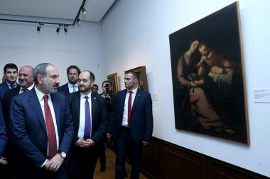 Opening ceremony of an exhibition under the title of 'The Shapes of Color. From Renaissance to Rococo' took place at the RA National Gallery in Yerevan, Armenia - Photolure News Agency