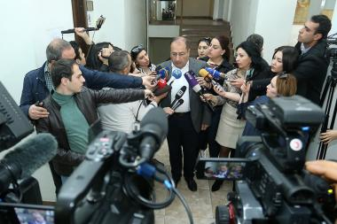 Robert Kocharyan's advocate Ruben Sahakyan at the RA Court of Criminal Appeals - Photolure News Agency