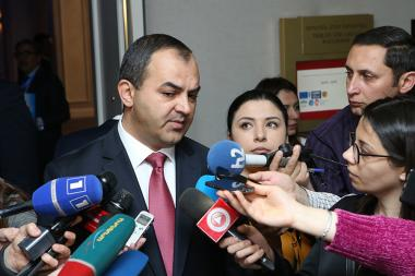 RA Prosecutor General Artur Davtyan holds a briefin - Photolure News Agency