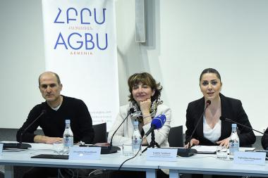 A press conference ahead of the 58th International Biennale of Art in Venice took place at the AGBU - Photolure News Agency