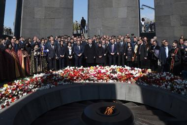 The 104th anniversary of the Armenian Genocide - Photolure News Agency