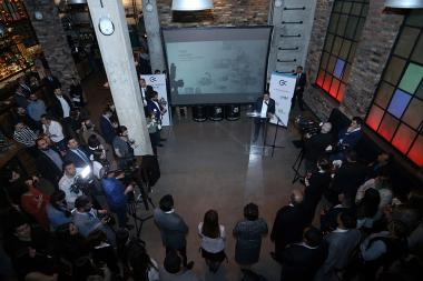 Creative Armenia organized an event dedicated to the current and new launching programs of the organization at 'Pahest 33' in Yerevna, Armenia - Photolure News Agency