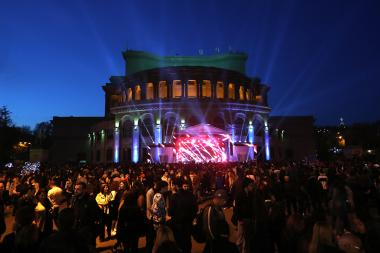 Events dedicated to the Citizen's Day in Yerevan, Armenia - Photolure News Agency
