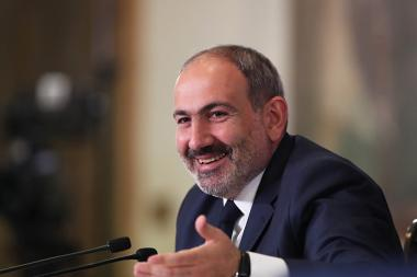 RA Prime Minister Nikol Pashinyan gives a press conference at the RA National Gallery - Photolure News Agency