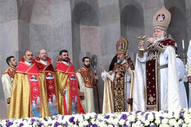 Anointing and consecration of bishops took place at the Mother See of Holy Etchmiadzin - Photolure News Agency