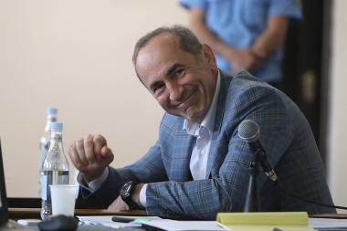 Hearings of the RA second President's Robert Kocharyan case took place at the Court of General Jurisdiction of Nor Nork Administrative Districts of Yerevan, Armenia - Photolure News Agency