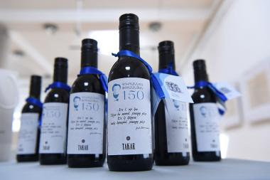 Armenia Wine Company and H. Tumanyan Museum jointly produced a series of 'Tarkar' wines at the H. Tumanyan House-Museum in Yerevan, Armenia - Photolure News Agency