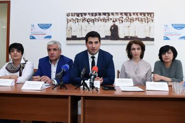 A press conference within the framework of the Night of Museums pan-European event took place at the Museum of Literature and Art after Yeghishe Charents - Photolure News Agency