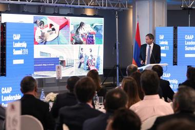 Corporación America Airports Leadership Summit took place at the Armenia Marriott Hotel - Photolure News Agency