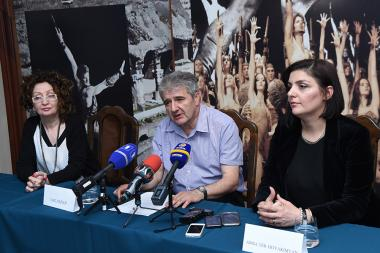 A press conference dedicated to the launch of the 15th Aram Khachaturian International Competition took place at the Aram Khachaturian House-Museum in Yerevan, Armenia - Photolure News Agency