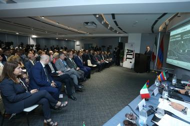 An Armenian-Italian business forum took place at DoubleTree by Hilton Hotel - Photolure News Agency