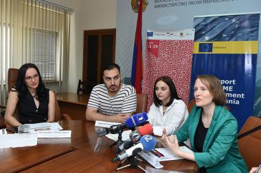 A press conference ahead of the launch of annual 'Fashion Forum Yerevan 2019' took place at the RA Ministry of Economy - Photolure News Agency