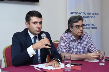 A public discussion on the topic of 'The issues of modernization of the state. Vision and Strategy' took place at Ani Plaza Hotel - Photolure News Agency