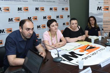 A discussion on the topic of the 'Pre-election promises of the Yerevan City Council in the educational sphere. First Year Report' took place at the Media Center - Photolure News Agency
