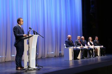 The official opening ceremony of the 5th International Medical Congress of Armenia took place at the National Academic Theatre of Opera and Ballet named after Al. Spendiaryan - Photolure News Agency
