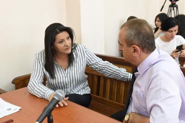 Hearings of Manvel Grigoryan's and Nazik Amiryan's case took place at the Court of General Jurisdiction of Kentron and Nork-Marash Administrative Districts - Photolure News Agency