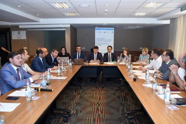 Presentation of the 'Support to the Bankruptcy System Improvement in Armenia' project took place at the Hyatt Place Hotel - Photolure News Agency