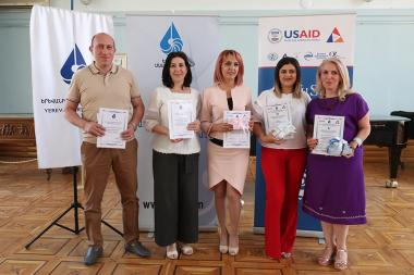 Awards ceremony within the framework of the 24th anniversary of Yerevan Press Club took place at the Aram Khachaturian House-Museum - Photolure News Agency