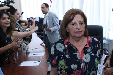A session demanding the termination of the mandate of the Supreme Court Council board member Nakhshun Tavaratsyan took place - Photolure News Agency