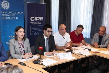 A public discussion on the topic of the 'Anticorruption strategy and its Implementation during 2019-2022 years' took place at Ibis Hotel - Photolure News Agency