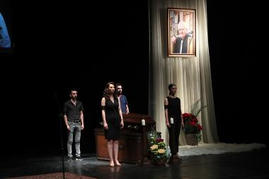 Requiem service for RA People's Artist Yervand Ghazanchyan took place at the Hakob Paronyan State Musical Comedy Theater - Photolure News Agency