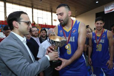 A basketball match between the teams of Beverly Hills and Glendale took place during the 7th Pan-Armenian Summer Games in Armenia - Photolure News Agency