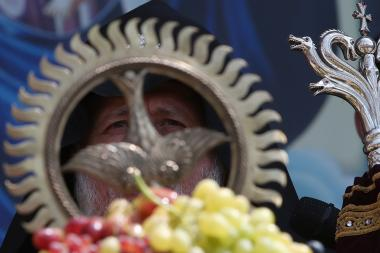 The blessing ceremony of grapes at the Mother See of Holy Etchmiadzin - Photolure News Agency