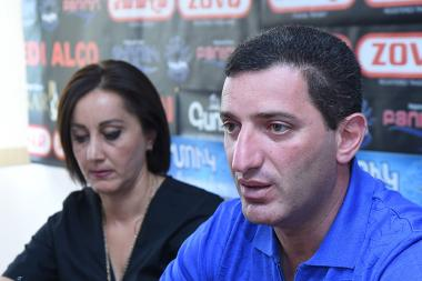 Member of Prosperous Armenia Party Gevorg Petrosyan gave a press conference in Hayeli press club - Photolure News Agency
