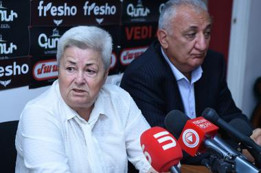 Politicians Hranush Kharatyan, Azat Arshakyan and reserve officer Volodya Hovhannisyan gave a press conference in Hayeli press club - Photolure News Agency