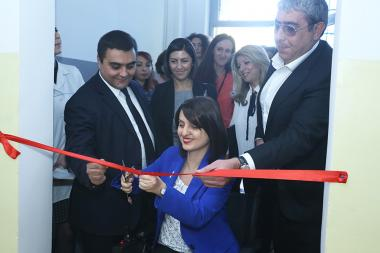 RA Minister of Labor and Social Affairs Zaruhi Batoyan attended the opening of a newly renovated department of Nork nursing home in Yerevan, Armenia - Photolure News Agency