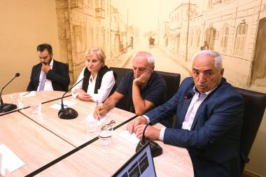 A discussion on the topic of 'March 1 witness security problems, are they defended?' took place in 'Article 3' press club - Photolure News Agency