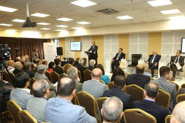 The 4th conference on 'Development of Armenia-Diaspora Business Relations Network' took place at Elite Plaza Business Center - Photolure News Agency