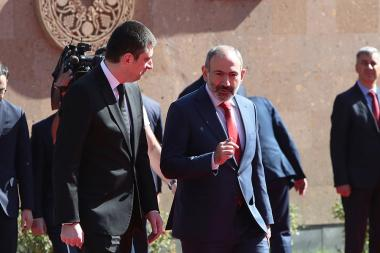 Georgian Prime Minister Giorgi Gakharia paid an official visit to Yerevan, Armenia - Photolure News Agency