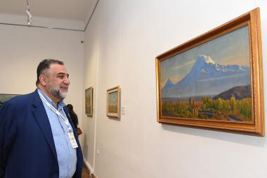 An exhibition titled 'Ararat, the Sacred Mountain' took place at the RA National Gallery - Photolure News Agency