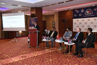The American Chamber of Commerce in Armenia (ACCA) organized presentation and discussion of an international experience on 'Sustainable Waste Management' at the Armenia Marriott Hotel - Photolure News Agency