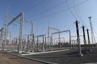 """Prime Minister Nikol Pashinyan participated in the opening ceremony of """"Victory"""" substation of High Voltage Electricity CJSC - Photolure News Agency"""