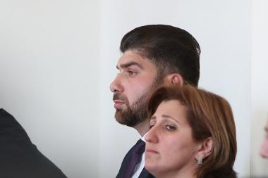 Hearings of Davit Sanasaryan's case took place at the First Instance Court of Shengavit Administrative District - Photolure News Agency