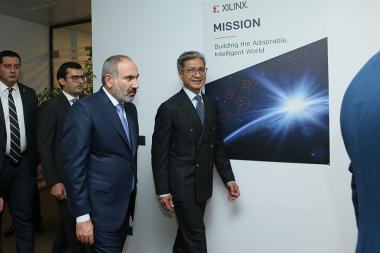 Opening ceremony of 'Xilinx' company's Armenian branch took place in Yerevan, Armenia - Photolure News Agency