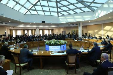 The 12th plenary session of the CSTO Parliamentary Assembly took place at the RA Ministry of Defence - Photolure News Agency