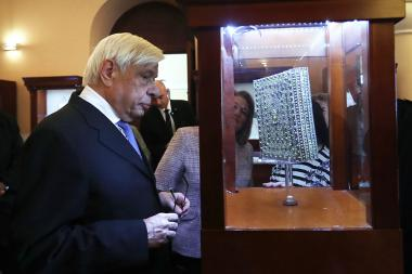 President of the Hellenic Republic Prokopios Pavlopoulos and his wife paid a visit to Matenadaran - Photolure News Agency