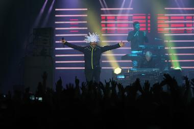 The concert of 'Jamiroqui' band took place at the Sports and Concerts Complex named after Karen Demirchyan - Photolure News Agency