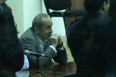 Decision on Robert Kocharyan's preventive measure was announced at the Court of General Jurisdiction of Shengavit Administrative District - Photolure News Agency