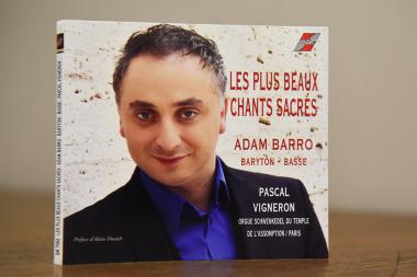 Presentation of the opera singer Adam Barrot's (Murad Amirkhanyan) new CD took place at the Komitas Chamber Music Hall - Photolure News Agency