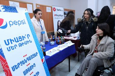 A job fair took place at the Yerevan Expo Center - Photolure News Agency