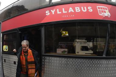 The launch of the 'Syllabus Creative Caravan' project took place in Yerevan, Armenia - Photolure News Agency