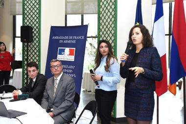 Presentation of 'RINArmenia' project took place at the French Embassy in Armenia - Photolure News Agency